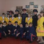 Первый юбилей казачьей школы февраль 2013 г.